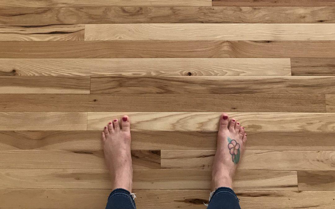 NEW Hardwood Floors!